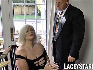 LACEYSTARR - naughtiest granny analled before jizz flow