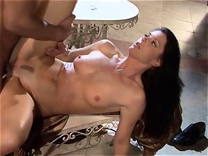 India Summers India Summers is luving the large man-meat pleasing her molten fuckbox har