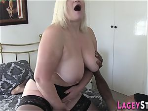 grandma Gets Her Pretty arse plowed by ebony rod