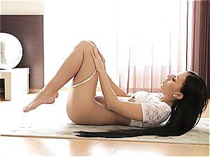 lil' Bailey pleasuring herself