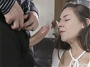 Cassidy Klein has no cash but pays with ass
