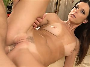 milf India Summers gets analled in the shower