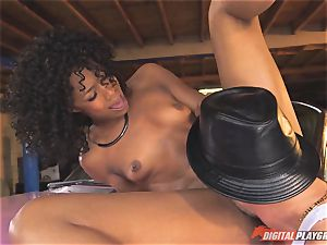 luxurious Misty Stone smashed by Kerian Lee