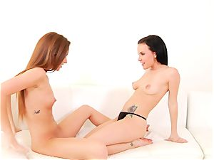 Maddy OReilly luvs teasing Katie St Ives wet vagina