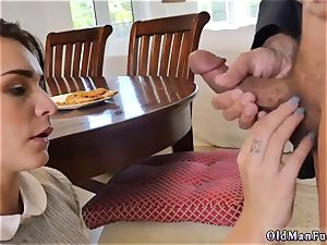 dad sexually abused me railing the elder hard-on!