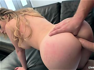 LiveGonzo Kagney Linn Karter jaw-dropping babe Getting ravaged