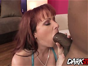 Kylie Ireland rectally demolished by ginormous big black cock