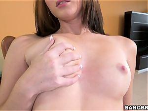 Natalie Lust's wet getting off
