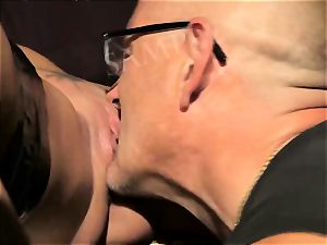 towheaded honey Is Bondaged And penetrated ass-fuck