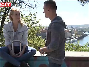 Russian babe boned rock-hard By Czech spunk-pump - LETSDOEIT