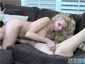 Brianna Banks and Jessica James munching out pantie pots