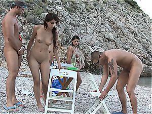 mischievous gang romp tournament on the beach part 4