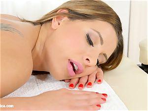Magic massage by lesbian Erotica lesbo enjoy porno