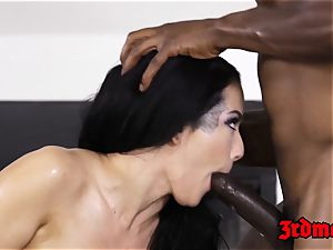 Katrina Jade pulverized by bbc after rubdown