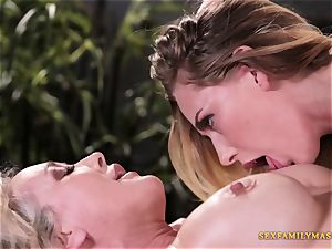 Carter Cruise and Brandi enjoy in girly-girl porn