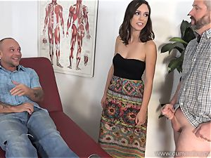 Jade Nile Has Her spouse blow man rod and observe Her