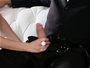 submissive smashes his boss Jaclyn Taylor while her husband sleeps