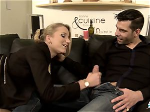 LA COCHONNE - super-steamy anal with naughty French ash-blonde