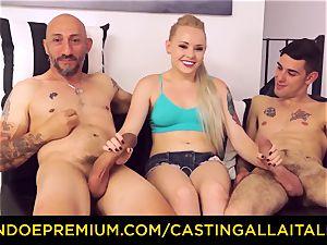 CASTNG ALLA ITALIANA - ash-blonde vixen rough dp orgy