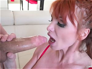 LiveGonzo Taylor Wane big-chested milf Wants More bang-out