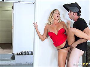 red-hot wifey Samantha Saint smashes her spouses step-brother