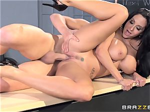buxomy tutor Ava Addams is banged by her schoolgirl