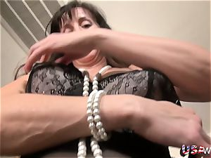 USAwives slender Lusty Mature gonzo style romp Footage