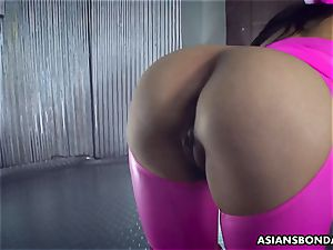 Impecable romping of a hooded taut bootie asian pervert