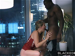 BLACKEDRAW curvaceous hotty Hooks Up With big black cock After soiree