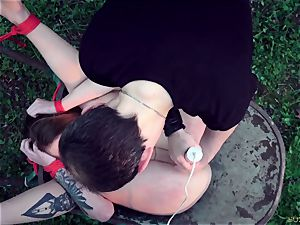 sub get tied up and boinked in the garden