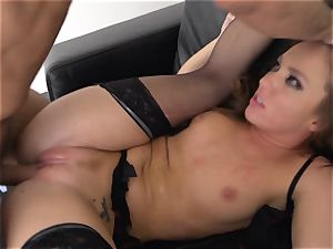 Maddy OReilly stuffed total in her underwear